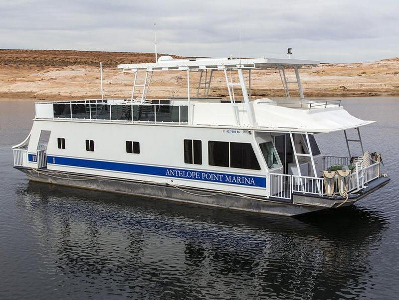 Houseboat River Alaska