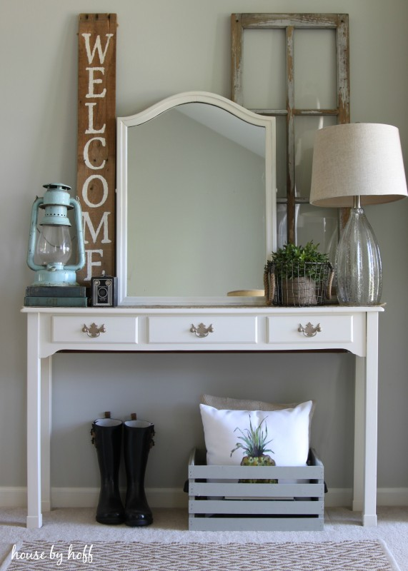 Decorating With Garage Sale Finds (The one where I profess ... on Garage Decoration  id=77672