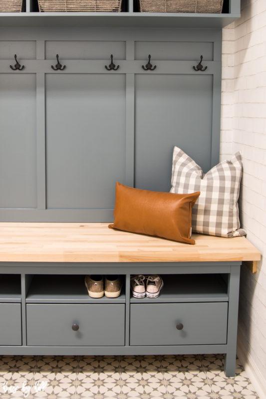Ikea Hemnes Hack Diy Mudroom Bench And Storage House By
