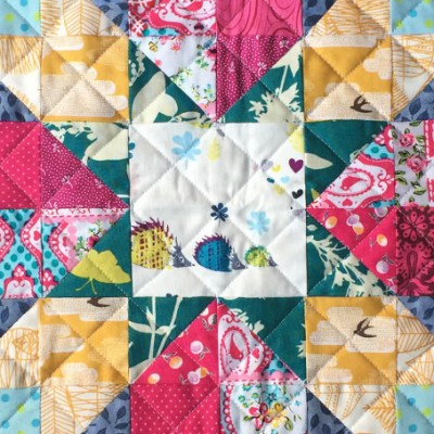 Ruby Roads Free Mini Quilt Pattern