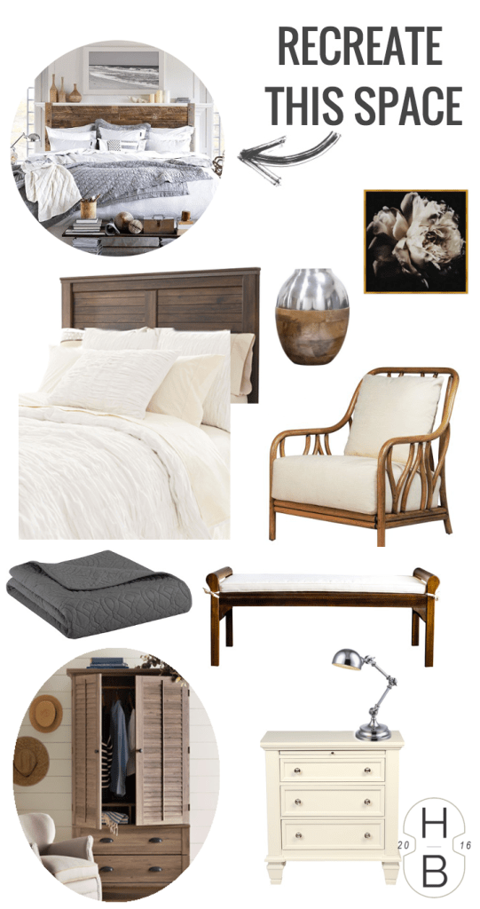 Recreate This Space: Beach House Bedroom | House by the Bay Design