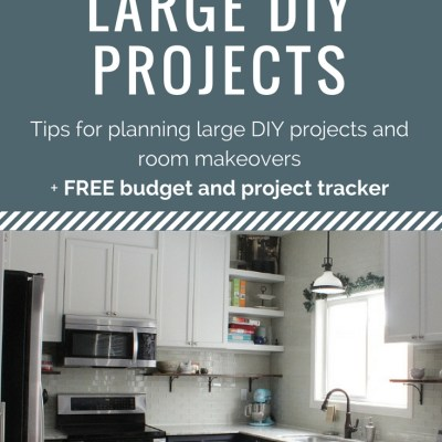 DIY Renovation Planning + a Free Worksheet