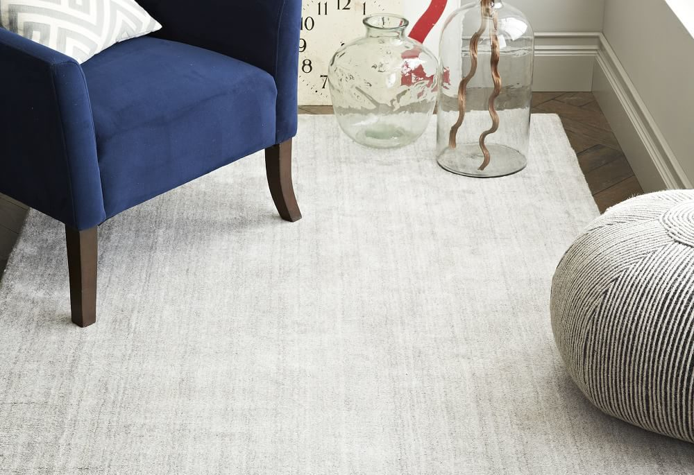 Hand Loomed Shine Rug | Recreate This Space: Beach House Bedroom | House by the Bay Design