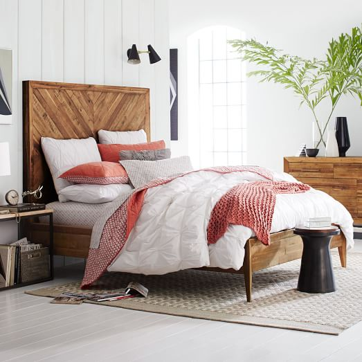 West Elm Alexa Headboard Inspiration
