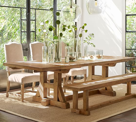 Pottery Barn Stafford Table | House by the Bay Design