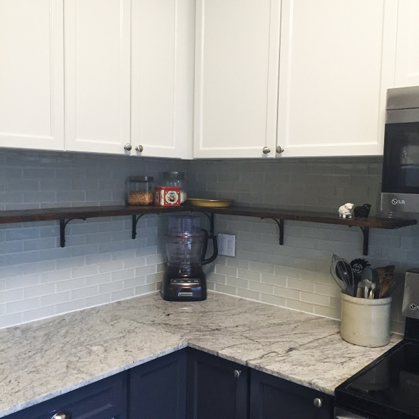 Cutting granite countertops | One Room Challenge Kitchen Renovation | House by the Bay Design