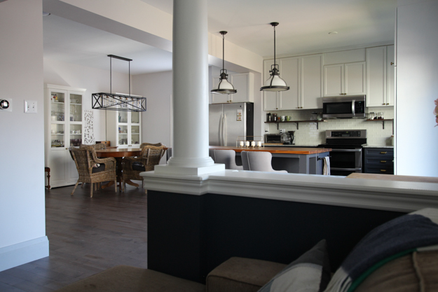 Main Floor Kitchen and Dining Room Makeover Reveal | House by the Bay Design