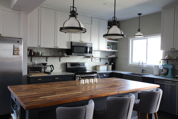 Custom Diy Butcher Block Island Top House By The Bay Design
