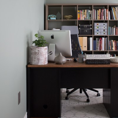 Modern Home Office Makeover Reveal