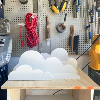 DIY Cloud Shelves | Beginner Scroll Saw Project