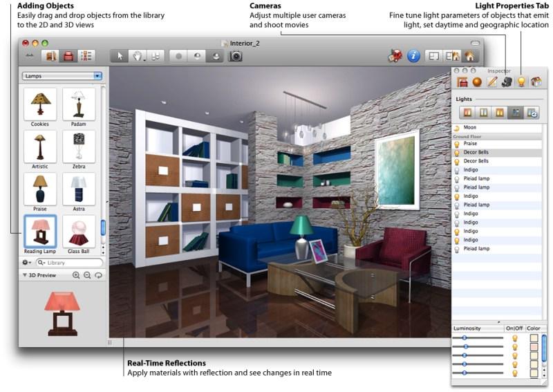 Interior design software pc