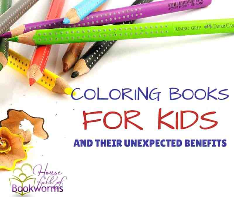 Coloring Books For Kids And Their Unexpected Benefits