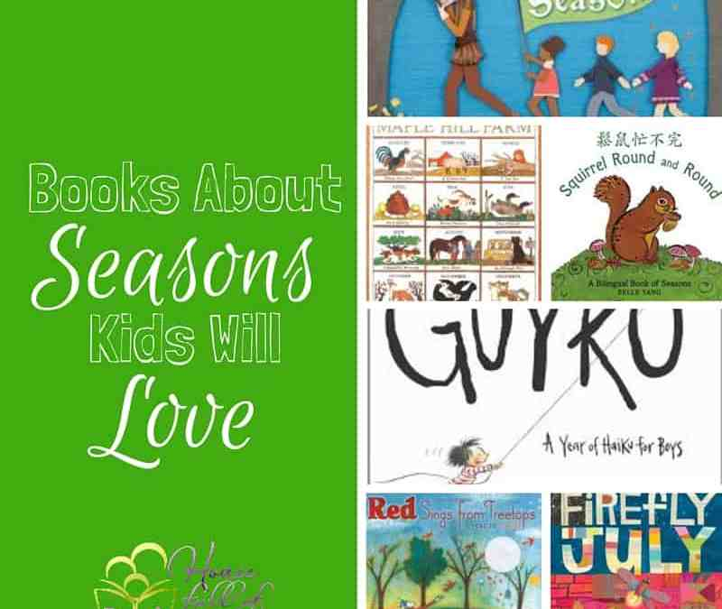 Books About Seasons Your Kids Will Love