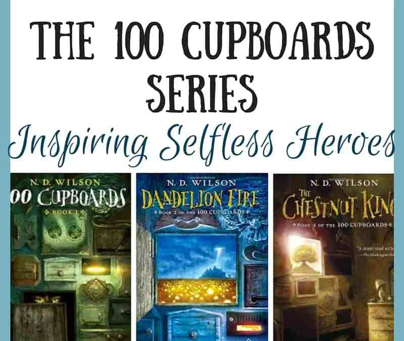 100 Cupboards Series by ND Wilson