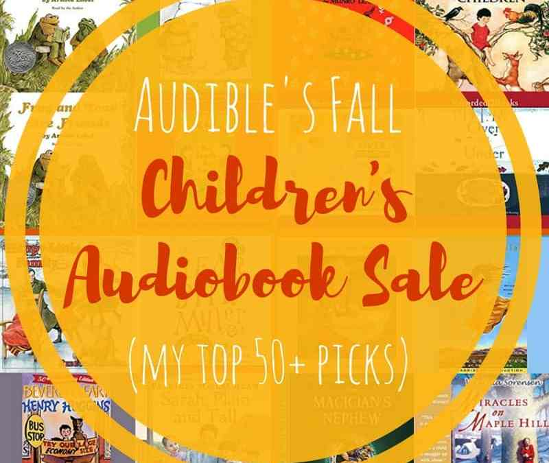 Fall 2017 Children's Book Sale at Audible