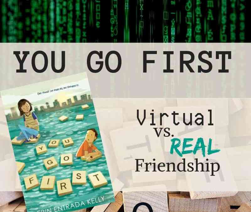 you go first: virtual vs real friendships