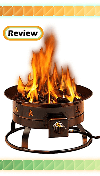 Heininger 5995 58,000 BTU Portable Propane Outdoor Fire Pit Review