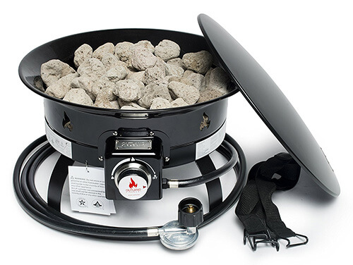 Review: Outland Firebowl 893 Deluxe Portable Propane Gas ... on Outland Gas Fire Pit id=97451