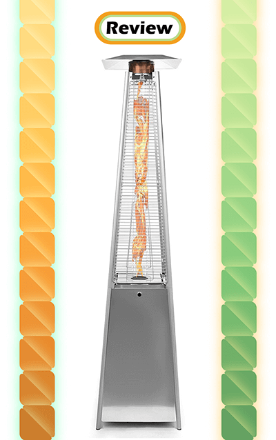 Thermo Tiki Deluxe Propane Outdoor Patio Heater - Pyramid Style Review