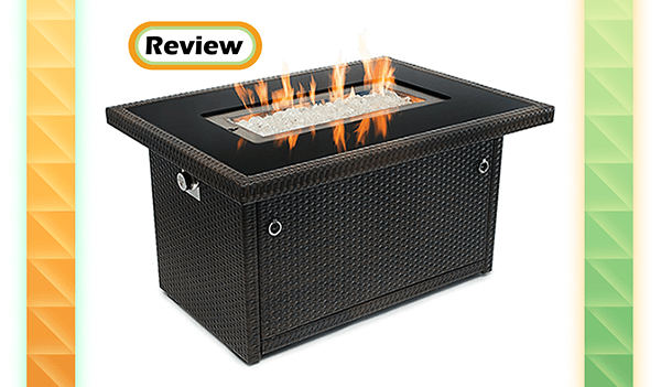 Outland Aluminum Frame Propane Fire Pit Table Model 401 Review