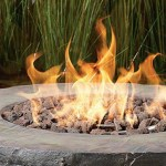 Vineyard Wine Barrel Propane Fire Pit