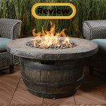 Vineyard Wine Barrel Propane Fire Pit Review