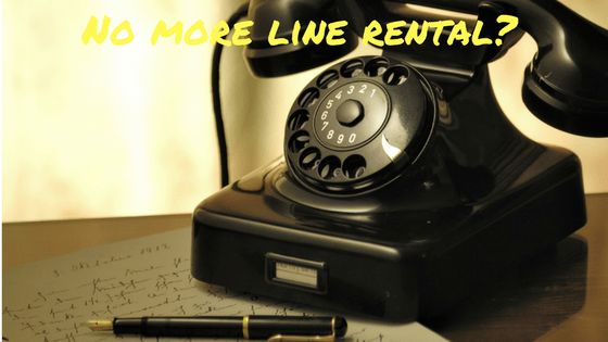 do I need line rental?