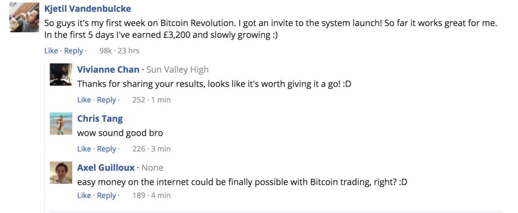 bitcoin revolution scam