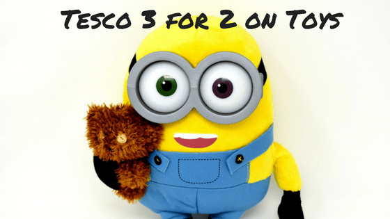 tesco 3 for 2 on toys