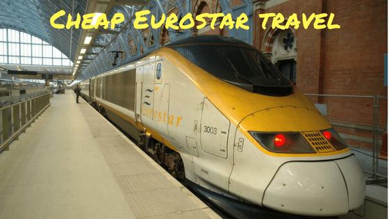 cheap eurostar tickets