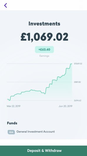 how much I have made from investing with plum