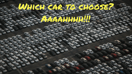 confused buying a car