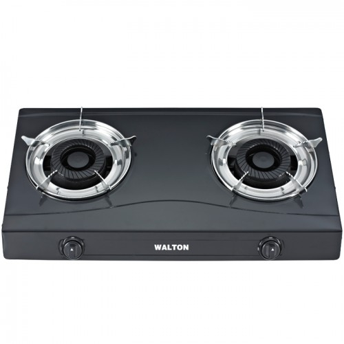 Sunflame Crystal Plus 3 Burner Auto Ignition Toughened Glass Black Cooktop