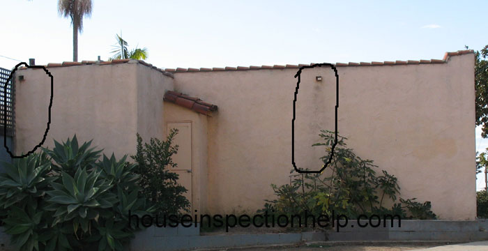 Roof Scupper Stains