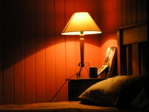 bedside lamp light