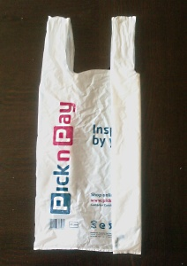 2 Plastic Shopping Bag Storage ...