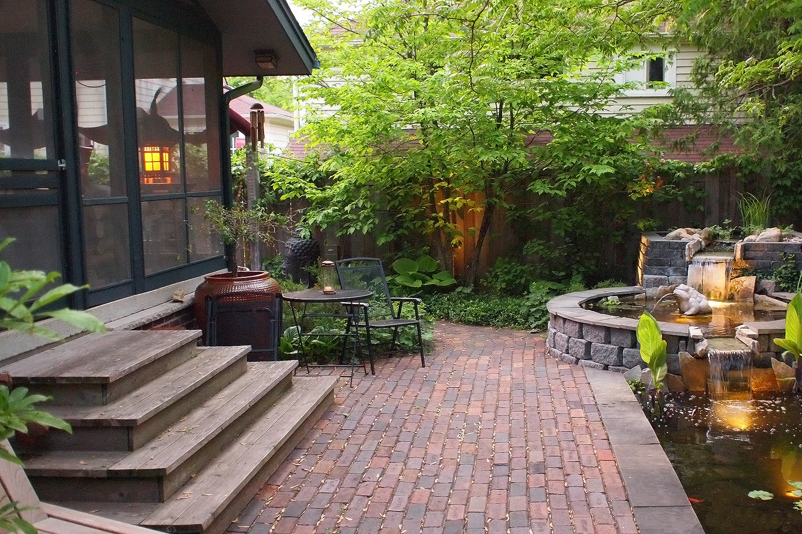 Paver Patio Ideas | Stone Patio Ideas | HouseLogic on Rock Patio Designs  id=46273