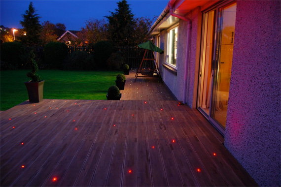 Deck Lighting Ideas Deck Railing Lights Ideas Houselogic
