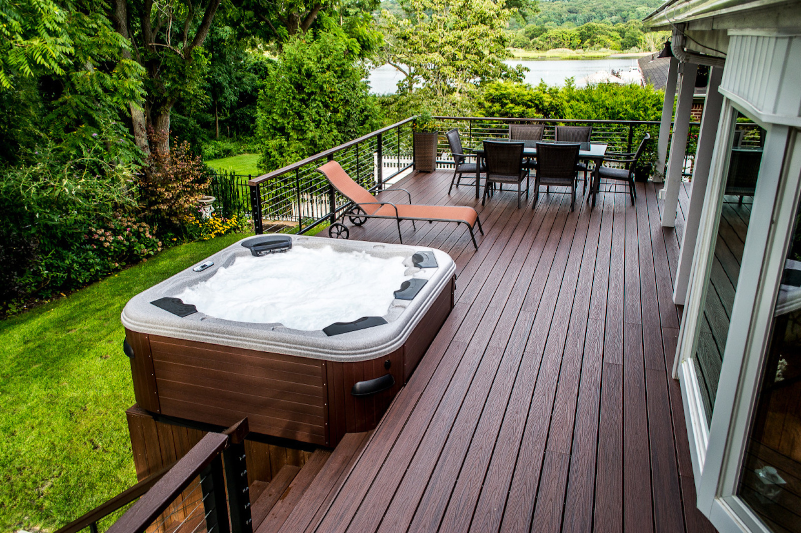 Spa And Deck | Spa Installation | Spa Decks | In Deck Spa on Deck And Hot Tub Ideas  id=62831