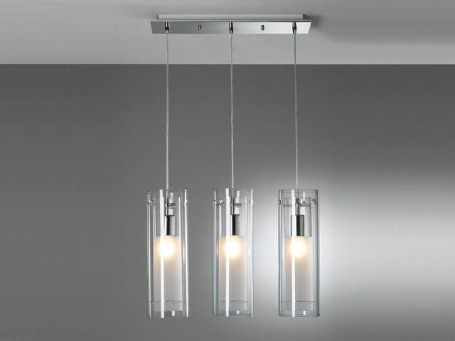 Lampade In Vetro A Sospensione : Lampade moderne per scegliere la giusta illuminazione del soggiorno