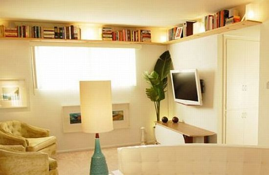 creare spazio in una casa piccola