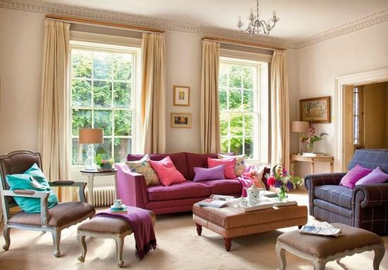 arredamento in stile inglese in casa hampshire
