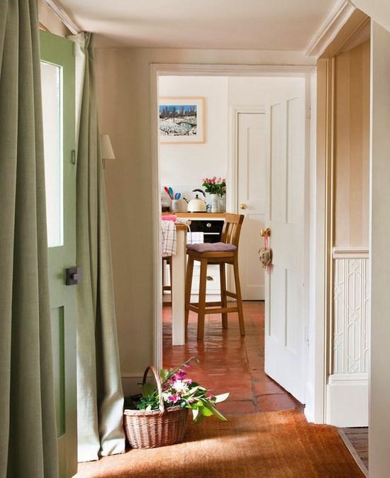 Arredamento in stile inglese in casa hampshire - Porta finestra in inglese ...