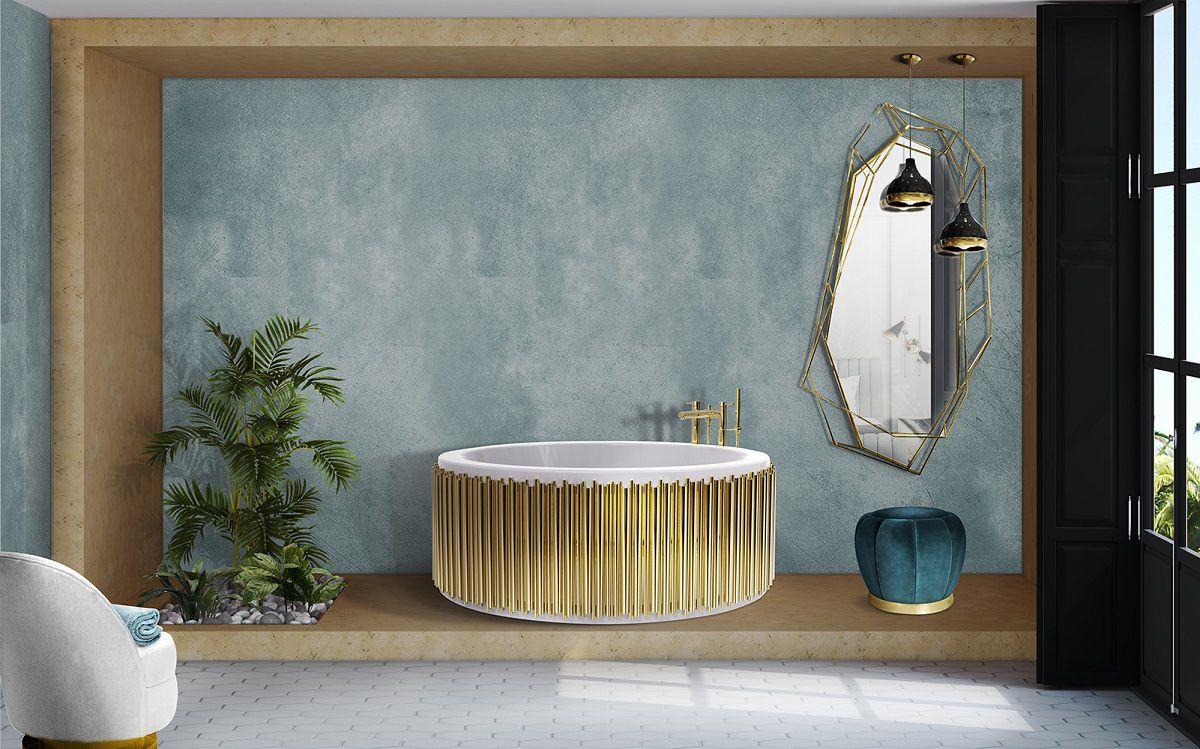 Vasca Da Bagno Con Vista Sulla Citta Interior Design : Arredare la stanza da bagno in stile marinaro