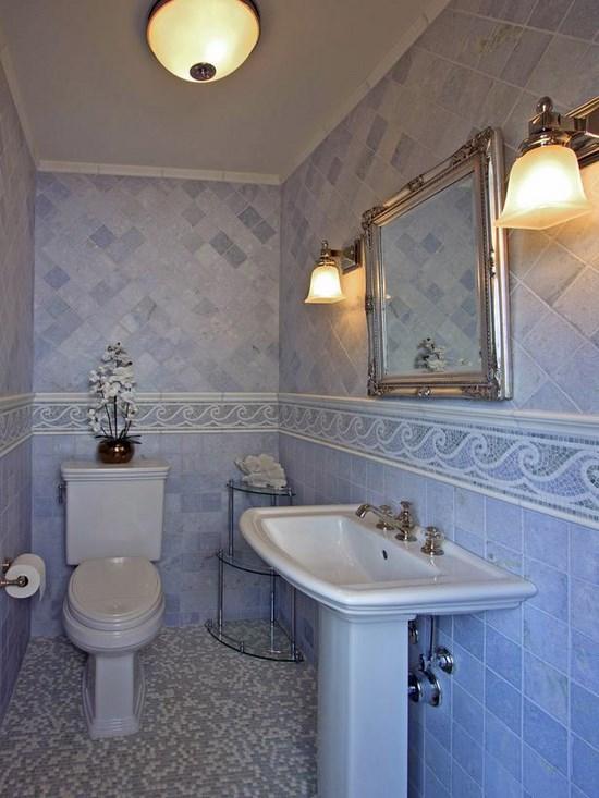Arredare la stanza da bagno in stile marinaro on Stanza Da Bagno  id=44718
