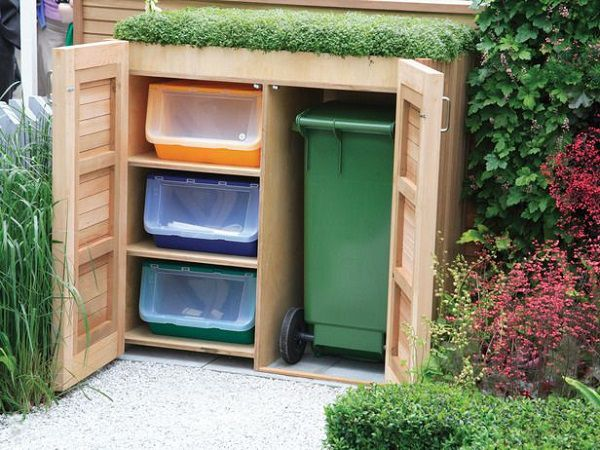 Come organizzare la raccolta differenziata in casa for Decorer son jardin avec des pierres