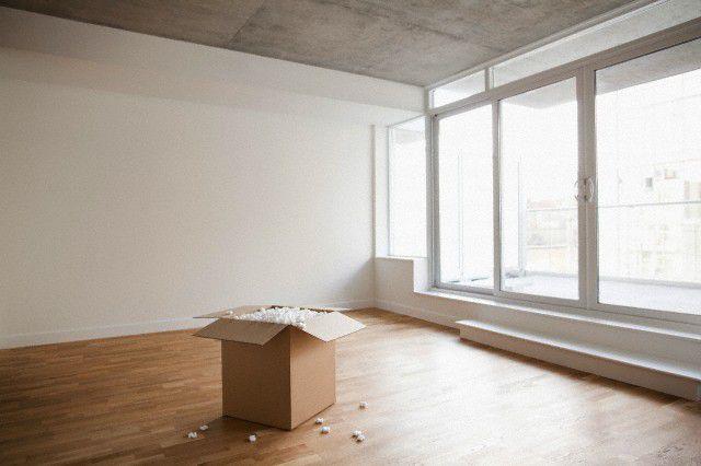 scatolone vuoto casa nuova