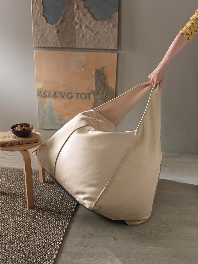 bag pouf my home collection