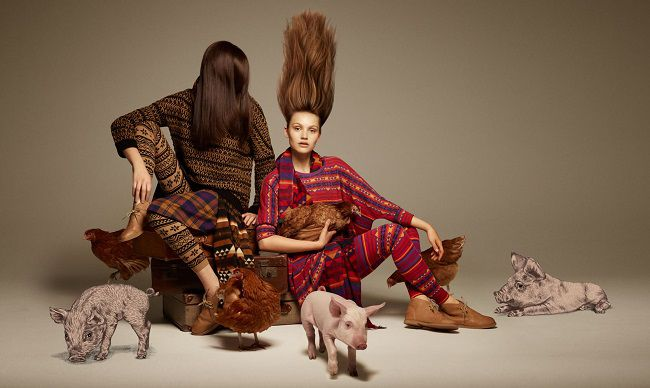 LINAGUSTAF Cherokee prints to the right for Monki