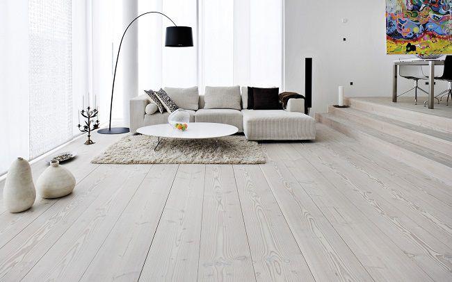 pavimento bianco scandinavia